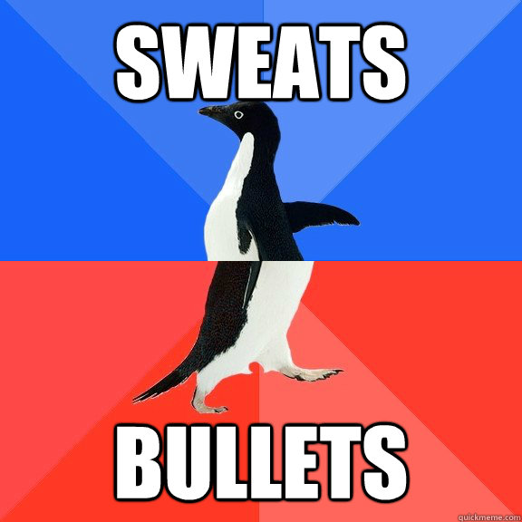 Sweats Bullets - Sweats Bullets  Socially Awkward Awesome Penguin