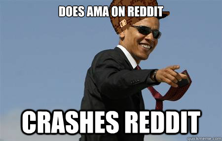 Does AMA on Reddit Crashes Reddit
