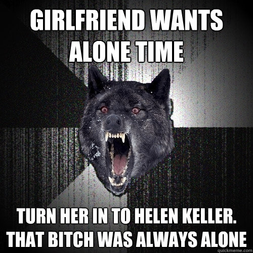 i need alone time from girlfriend
