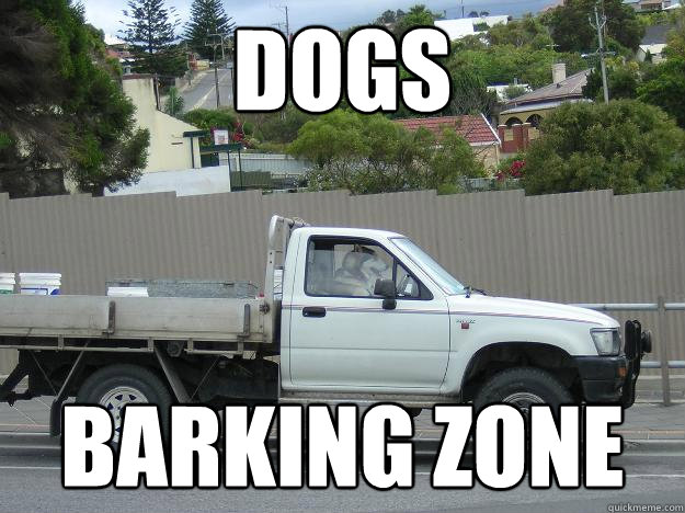 Dogs barking zone - Dogs barking zone  Barking Zone