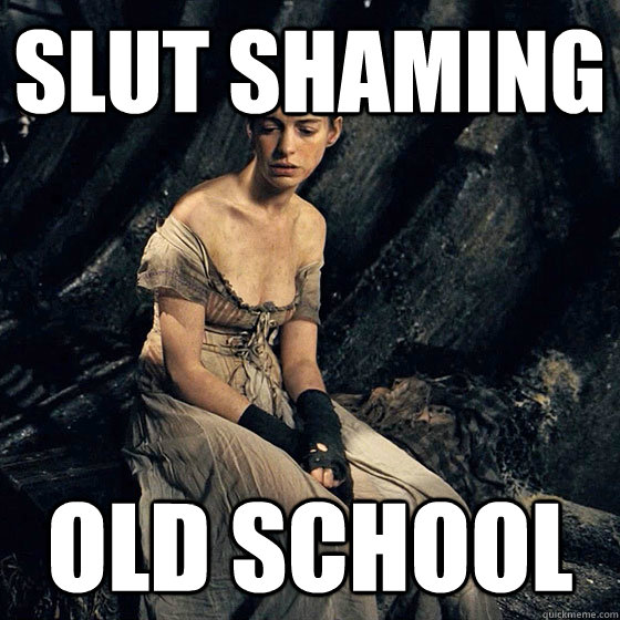 slut shaming old school - slut shaming old school  oldschool slut shaming