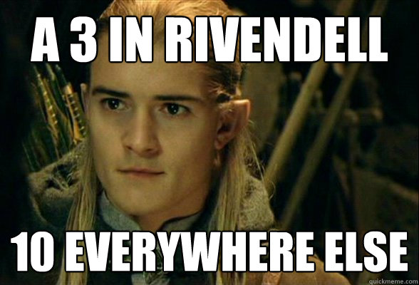 A 3 In Rivendell 10 Everywhere else - A 3 In Rivendell 10 Everywhere else  Misc