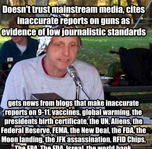 548e19a14ee04275f2a949a9e584c48e0a50aa26f5937d421138a8282efc2c90 doesn't trust mainstream media, cites inaccurate reports on guns