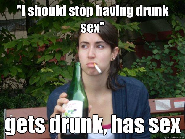 Drunk wife swallows