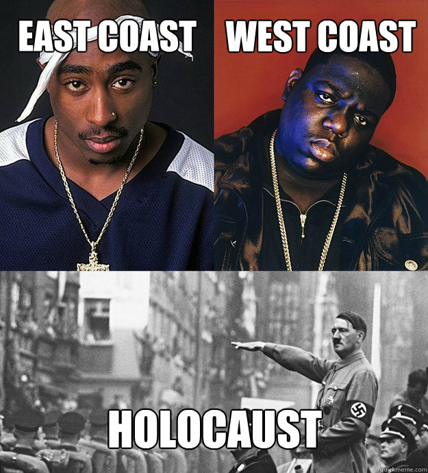 EAST Coast west coast holocaust  Hitler