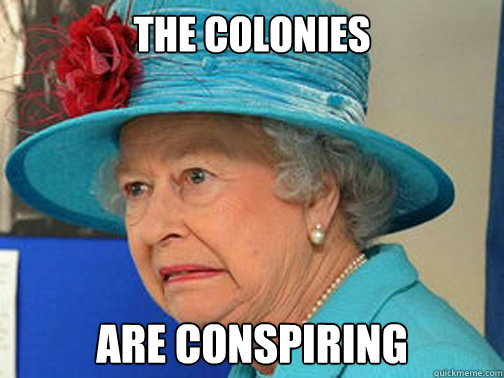 The colonies are conspiring - The colonies are conspiring  Misc