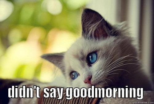 Morning Cat by george.wright.798278 - Meme Center |Good Morning Cat Meme