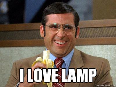 Re: I Love Lamp