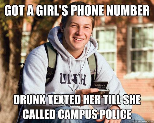 Got a girls number