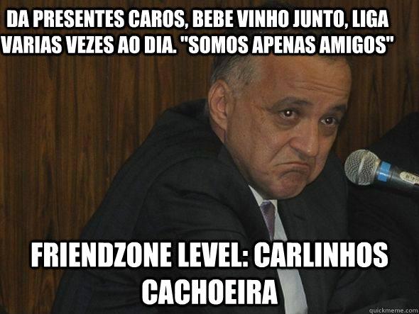 Dia Somos Apenas Amigos Friendzone Level Carlinhos Cachoeira