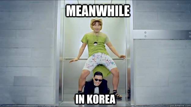 Meanwhile in korea