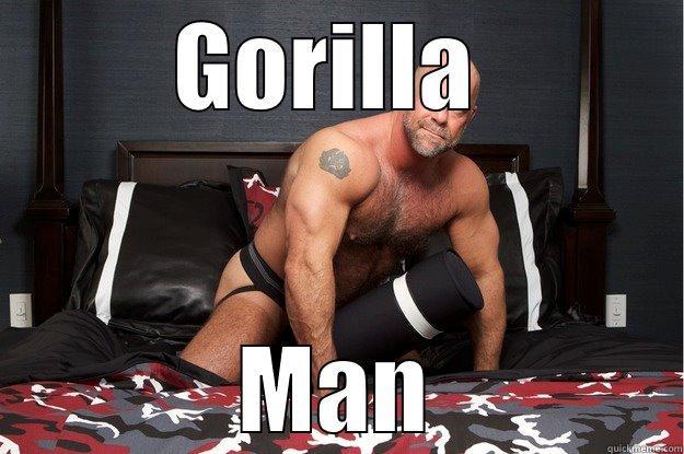 GORILLA  MAN Gorilla Man