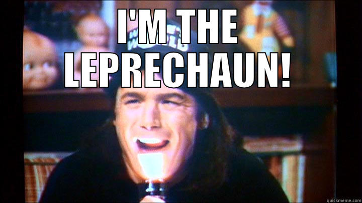 i'm the leprechaun! - I'M THE LEPRECHAUN!  Misc