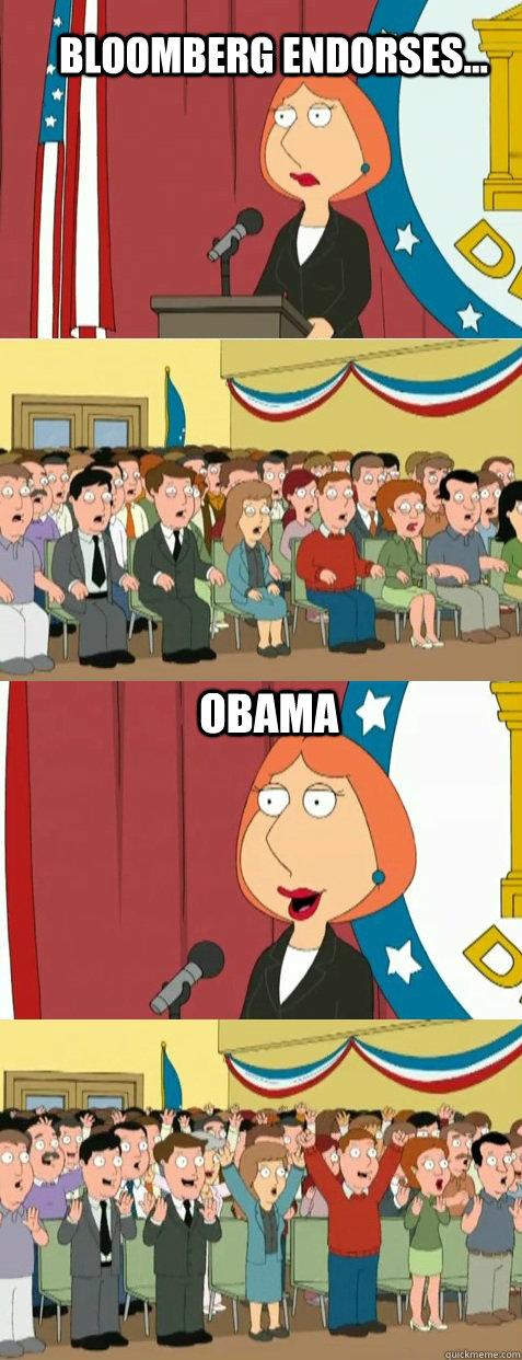 Bloomberg Endorses... Obama