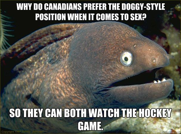 Hockey sex jokes