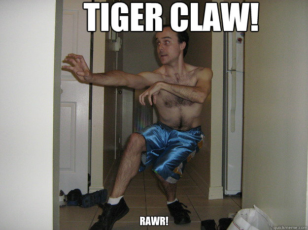 TIGER CLAW! RAWR! - TIGER CLAW! RAWR!  user