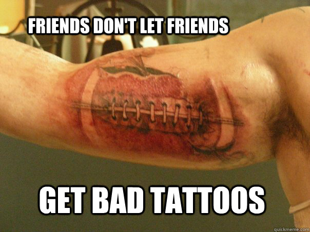 20 Best Tattoo Memes Collections For Bad Tattoos Love Memes