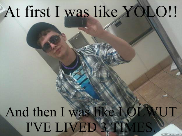 like meme At yolo was first i