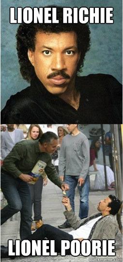 Lionel Richie Lionel Poorie  Lionel Richie