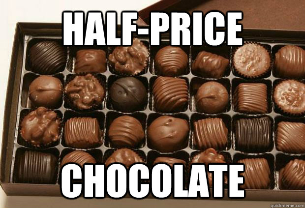 Half-Price Chocolate - Half-Price Chocolate  Chocolates