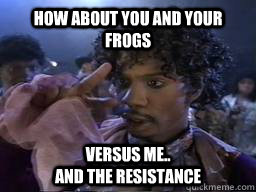 56ca420b9edf37e0fac87062751b3d7535a0a90bc2728a2fd486acfd704bbc2b how about you and your frogs versus me and the resistance dave,Dave Chappelle Memes