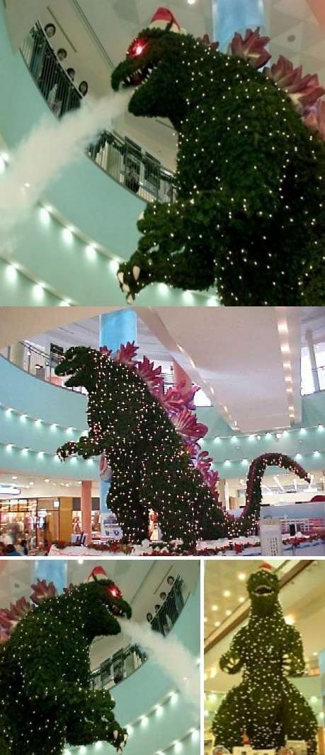 Christmas in Tokyo, Holy S%#! Run for the hills! Look it's... -   Misc