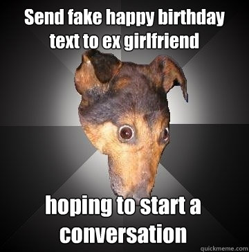 Image result for birthday meme to ex