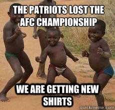 5748849e39c2084a15c39bba85395e3d7099e1c5db6c7ff7610a2161ff8a9d86 the patriots lost the afc championship we are getting new shirts