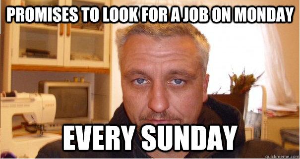 Deadbeat Dad Memes Every Sunday Deadbeat Dad