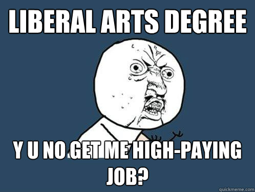 jobs with liberal arts degree