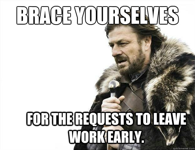 Leaving Work Early Funny Meme : Success kid leaving early on friday memes
