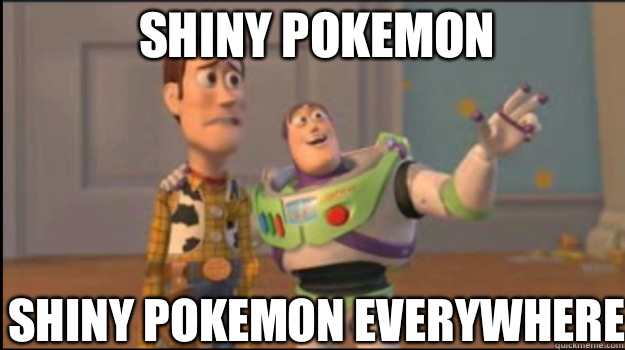 Shiny Pokemon Shiny Pokemon everywhere  - Shiny Pokemon Shiny Pokemon everywhere   Misc