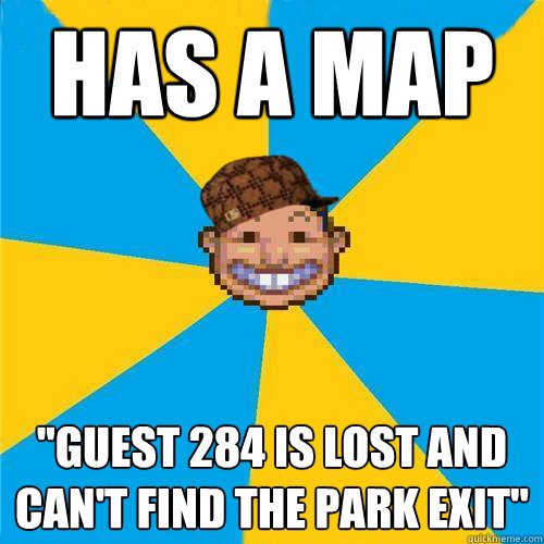 HAS A MAP