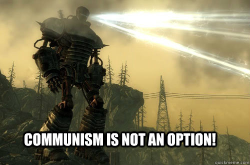 communism is not an option! - communism is not an option!  best Murica, Fuck Ya moment