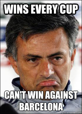 wins every cup can't win against Barçcelona