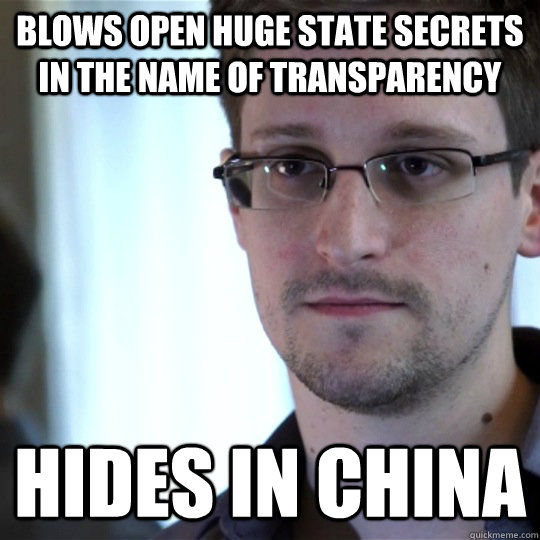Blows open huge state secrets in the name of transparency hides in China