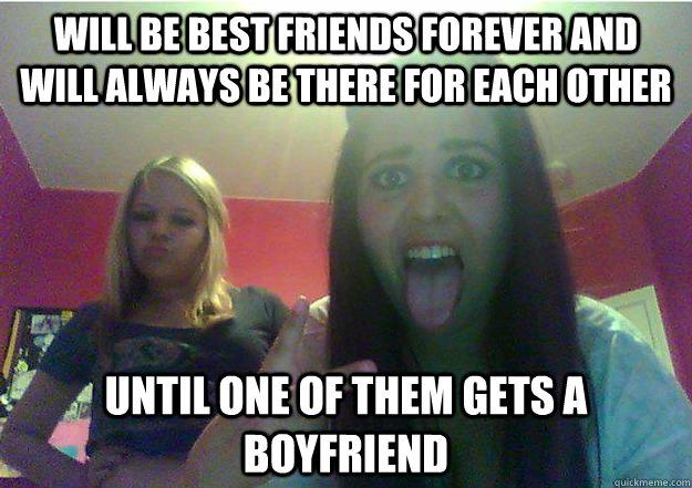 Funny Memes For Your Best Friend : Meme when your bestfriend gets a boyfriend when.best of the funny meme