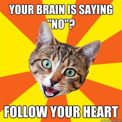 Your brain is saying