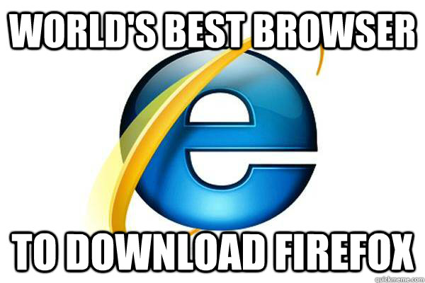 WORLD'S BEST BROWSER to download firefox