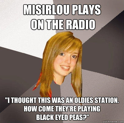 Misirlou plays  on the radio