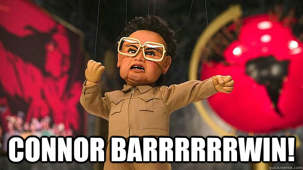 Connor Barrrrrrwin! -  Connor Barrrrrrwin!  Misc