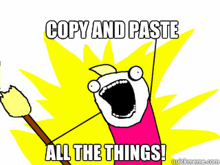 things to copy and paste