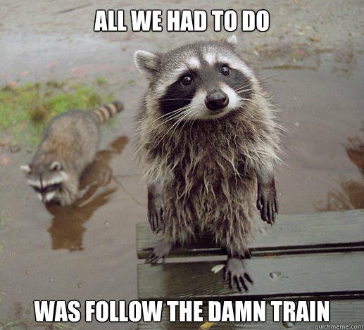 how to make a follow train
