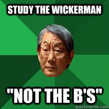 Study The Wickerman