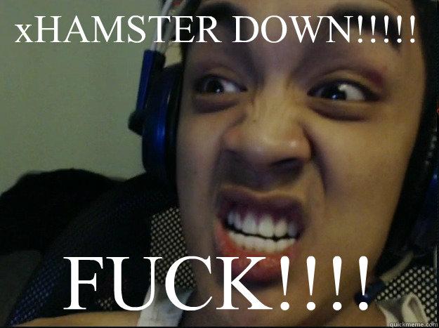 xHAMSTER DOWN!!!!! FUCK!!!! - DAT FACE - quickmeme