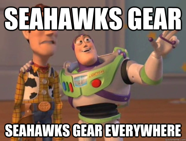 Seahawks gear seahawks gear everywhere - Seahawks gear seahawks gear everywhere  Buzz Lightyear