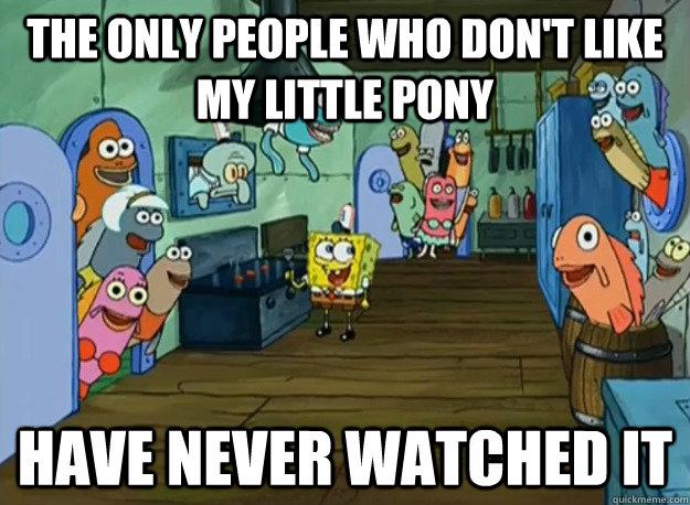 Spongebob The Only People Memes Quickmeme