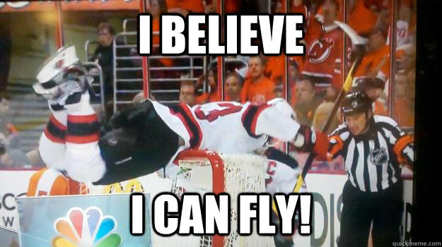 I believe i can fly! - I believe i can fly!  Clarkying