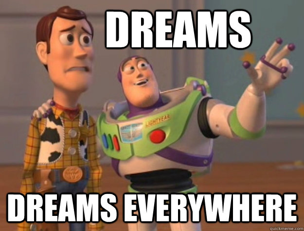 Dreams Dreams everywhere - Dreams Dreams everywhere  Buzz Lightyear