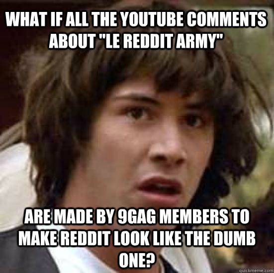 What if all the YouTube comments about